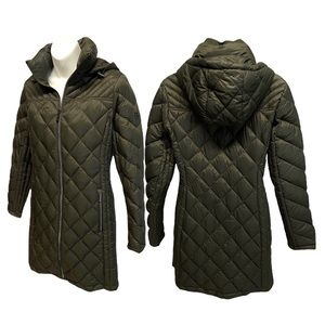 MICHAEL KORS Packable Down Fill Long Coat SMALL